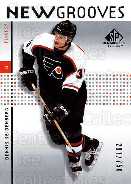 2002-03 SP Game Used #87 Dennis Seidenberg<br/>4 In Stock - $5.00 each - <a href=https://centericecollectibles.foxycart.com/cart?name=2002-03%20SP%20Game%20Used%20%2387%20Dennis%20Seidenbe...&quantity_max=4&price=$5.00&code=324363 class=foxycart> Buy it now! </a>