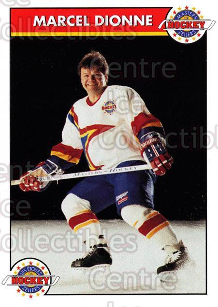 1993-94 Zellers Masters of Hockey #4 Marcel Dionne<br/>2 In Stock - $3.00 each - <a href=https://centericecollectibles.foxycart.com/cart?name=1993-94%20Zellers%20Masters%20of%20Hockey%20%234%20Marcel%20Dionne...&quantity_max=2&price=$3.00&code=3243 class=foxycart> Buy it now! </a>