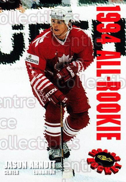 1994 Classic Hockey All-Rookie Team #2 Jason Arnott<br/>3 In Stock - $3.00 each - <a href=https://centericecollectibles.foxycart.com/cart?name=1994%20Classic%20Hockey%20All-Rookie%20Team%20%232%20Jason%20Arnott...&quantity_max=3&price=$3.00&code=3246 class=foxycart> Buy it now! </a>