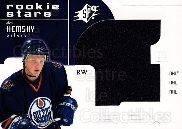 2002-03 SPx #160 Ales Hemsky<br/>1 In Stock - $5.00 each - <a href=https://centericecollectibles.foxycart.com/cart?name=2002-03%20SPx%20%23160%20Ales%20Hemsky...&quantity_max=1&price=$5.00&code=324760 class=foxycart> Buy it now! </a>