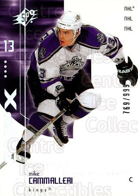 2002-03 SPx #190 Mike Cammalleri<br/>2 In Stock - $5.00 each - <a href=https://centericecollectibles.foxycart.com/cart?name=2002-03%20SPx%20%23190%20Mike%20Cammalleri...&quantity_max=2&price=$5.00&code=324767 class=foxycart> Buy it now! </a>