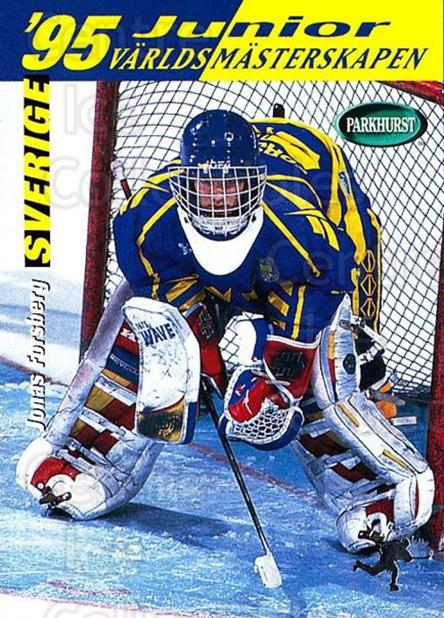 1994-95 Parkhurst SE #245 Jonas Forsberg<br/>1 In Stock - $1.00 each - <a href=https://centericecollectibles.foxycart.com/cart?name=1994-95%20Parkhurst%20SE%20%23245%20Jonas%20Forsberg...&price=$1.00&code=32599 class=foxycart> Buy it now! </a>