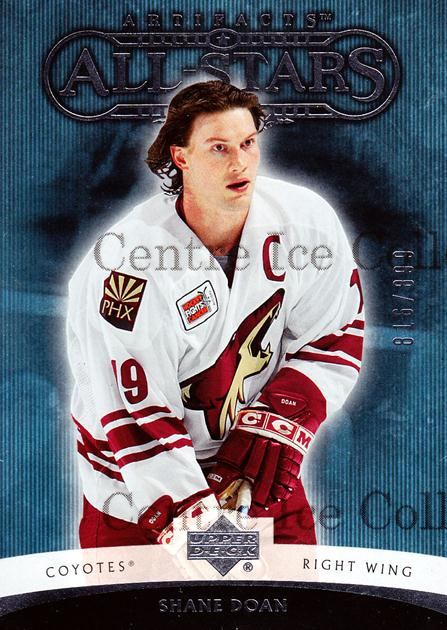 2005-06 UD Artifacts #188 Shane Doan<br/>6 In Stock - $3.00 each - <a href=https://centericecollectibles.foxycart.com/cart?name=2005-06%20UD%20Artifacts%20%23188%20Shane%20Doan...&quantity_max=6&price=$3.00&code=326014 class=foxycart> Buy it now! </a>