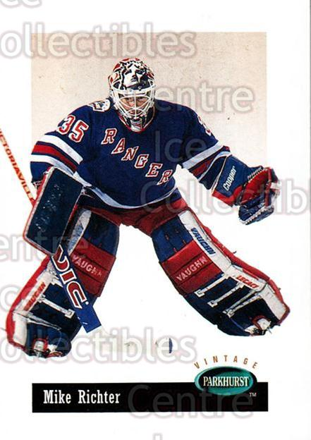 1994-95 Parkhurst Vintage #5 Mike Richter<br/>2 In Stock - $1.00 each - <a href=https://centericecollectibles.foxycart.com/cart?name=1994-95%20Parkhurst%20Vintage%20%235%20Mike%20Richter...&quantity_max=2&price=$1.00&code=32639 class=foxycart> Buy it now! </a>
