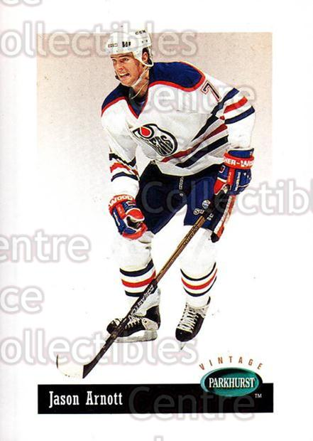 1994-95 Parkhurst Vintage #84 Jason Arnott<br/>6 In Stock - $1.00 each - <a href=https://centericecollectibles.foxycart.com/cart?name=1994-95%20Parkhurst%20Vintage%20%2384%20Jason%20Arnott...&quantity_max=6&price=$1.00&code=32674 class=foxycart> Buy it now! </a>