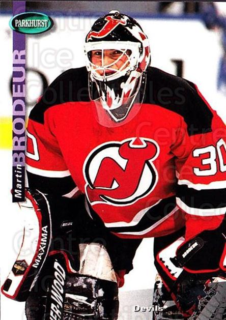 1994-95 Parkhurst #126 Martin Brodeur<br/>1 In Stock - $2.00 each - <a href=https://centericecollectibles.foxycart.com/cart?name=1994-95%20Parkhurst%20%23126%20Martin%20Brodeur...&price=$2.00&code=32704 class=foxycart> Buy it now! </a>