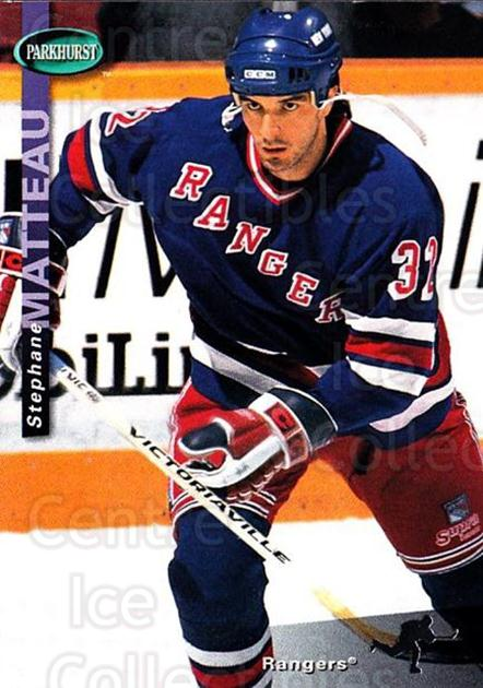 1994-95 Parkhurst #150 Stephane Matteau<br/>2 In Stock - $1.00 each - <a href=https://centericecollectibles.foxycart.com/cart?name=1994-95%20Parkhurst%20%23150%20Stephane%20Mattea...&quantity_max=2&price=$1.00&code=32723 class=foxycart> Buy it now! </a>