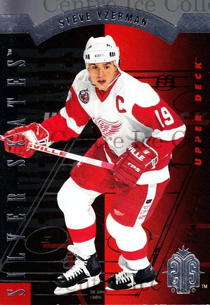 1993-94 Upper Deck Silver Skates Retail #6 Steve Yzerman<br/>3 In Stock - $5.00 each - <a href=https://centericecollectibles.foxycart.com/cart?name=1993-94%20Upper%20Deck%20Silver%20Skates%20Retail%20%236%20Steve%20Yzerman...&price=$5.00&code=327240 class=foxycart> Buy it now! </a>