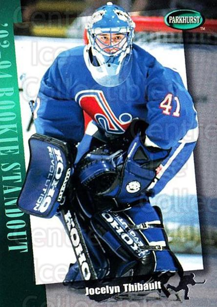 1994-95 Parkhurst #275 Jocelyn Thibault<br/>3 In Stock - $1.00 each - <a href=https://centericecollectibles.foxycart.com/cart?name=1994-95%20Parkhurst%20%23275%20Jocelyn%20Thibaul...&quantity_max=3&price=$1.00&code=32822 class=foxycart> Buy it now! </a>