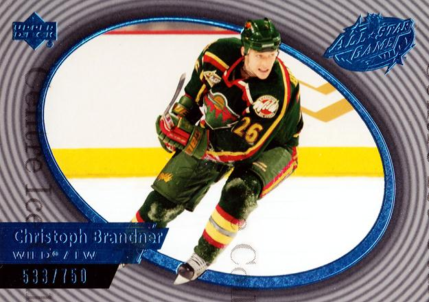2004 Upper Deck AS Game Redemption #CB Christoph Brandner<br/>5 In Stock - $3.00 each - <a href=https://centericecollectibles.foxycart.com/cart?name=2004%20Upper%20Deck%20AS%20Game%20Redemption%20%23CB%20Christoph%20Brand...&quantity_max=5&price=$3.00&code=328244 class=foxycart> Buy it now! </a>