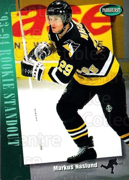1994-95 Parkhurst #287 Markus Naslund<br/>4 In Stock - $1.00 each - <a href=https://centericecollectibles.foxycart.com/cart?name=1994-95%20Parkhurst%20%23287%20Markus%20Naslund...&quantity_max=4&price=$1.00&code=32831 class=foxycart> Buy it now! </a>