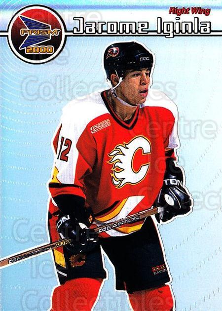 1999-00 Pacific Prism #24 Jarome Iginla<br/>1 In Stock - $2.00 each - <a href=https://centericecollectibles.foxycart.com/cart?name=1999-00%20Pacific%20Prism%20%2324%20Jarome%20Iginla...&quantity_max=1&price=$2.00&code=328324 class=foxycart> Buy it now! </a>