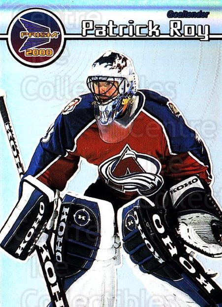 1999-00 Pacific Prism #40 Patrick Roy<br/>1 In Stock - $5.00 each - <a href=https://centericecollectibles.foxycart.com/cart?name=1999-00%20Pacific%20Prism%20%2340%20Patrick%20Roy...&quantity_max=1&price=$5.00&code=328325 class=foxycart> Buy it now! </a>