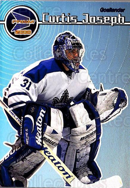 1999-00 Pacific Prism #137 Curtis Joseph<br/>1 In Stock - $2.00 each - <a href=https://centericecollectibles.foxycart.com/cart?name=1999-00%20Pacific%20Prism%20%23137%20Curtis%20Joseph...&quantity_max=1&price=$2.00&code=328331 class=foxycart> Buy it now! </a>