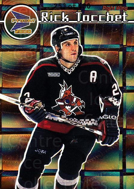 1999-00 Prism Holographic Gold #111 Rick Tocchet<br/>3 In Stock - $3.00 each - <a href=https://centericecollectibles.foxycart.com/cart?name=1999-00%20Prism%20Holographic%20Gold%20%23111%20Rick%20Tocchet...&quantity_max=3&price=$3.00&code=328498 class=foxycart> Buy it now! </a>