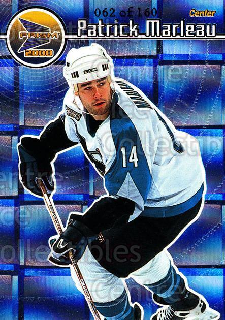 1999-00 Prism Holographic Mirror #125 Patrick Marleau<br/>2 In Stock - $3.00 each - <a href=https://centericecollectibles.foxycart.com/cart?name=1999-00%20Prism%20Holographic%20Mirror%20%23125%20Patrick%20Marleau...&quantity_max=2&price=$3.00&code=328662 class=foxycart> Buy it now! </a>