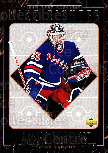 1995-96 Upper Deck Predictor Hobby Redeemed #HR12 Mike Richter<br/>6 In Stock - $3.00 each - <a href=https://centericecollectibles.foxycart.com/cart?name=1995-96%20Upper%20Deck%20Predictor%20Hobby%20Redeemed%20%23HR12%20Mike%20Richter...&quantity_max=6&price=$3.00&code=329094 class=foxycart> Buy it now! </a>