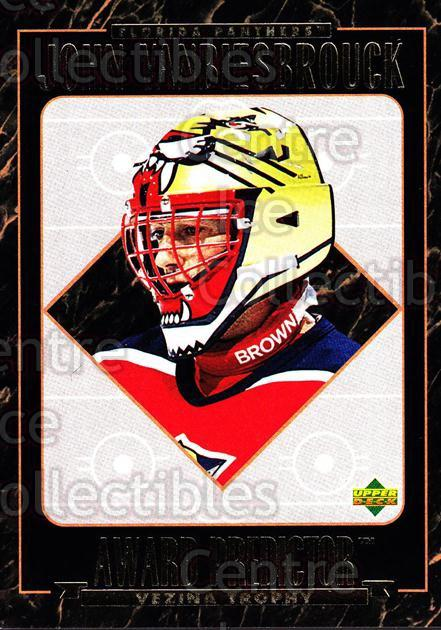 1995-96 Upper Deck Predictor Hobby Redeemed #HR19 John Vanbiesbrouck<br/>2 In Stock - $3.00 each - <a href=https://centericecollectibles.foxycart.com/cart?name=1995-96%20Upper%20Deck%20Predictor%20Hobby%20Redeemed%20%23HR19%20John%20Vanbiesbro...&quantity_max=2&price=$3.00&code=329100 class=foxycart> Buy it now! </a>