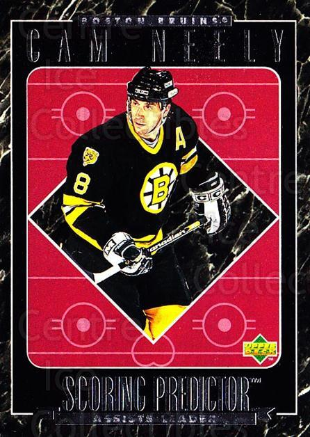 1995-96 Upper Deck Predictor Retail #R01 Cam Neely<br/>4 In Stock - $3.00 each - <a href=https://centericecollectibles.foxycart.com/cart?name=1995-96%20Upper%20Deck%20Predictor%20Retail%20%23R01%20Cam%20Neely...&quantity_max=4&price=$3.00&code=329133 class=foxycart> Buy it now! </a>