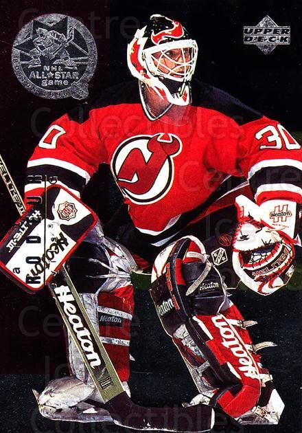 1995-96 Upper Deck NHL All-Stars #6 Ed Belfour, Martin Brodeur<br/>1 In Stock - $5.00 each - <a href=https://centericecollectibles.foxycart.com/cart?name=1995-96%20Upper%20Deck%20NHL%20All-Stars%20%236%20Ed%20Belfour,%20Mar...&price=$5.00&code=329203 class=foxycart> Buy it now! </a>