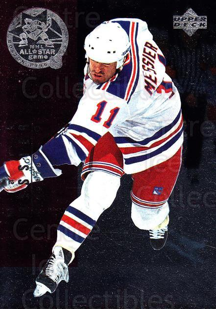 1995-96 Upper Deck NHL AS #16 Mark Messier, Doug Weight<br/>3 In Stock - $5.00 each - <a href=https://centericecollectibles.foxycart.com/cart?name=1995-96%20Upper%20Deck%20NHL%20AS%20%2316%20Mark%20Messier,%20D...&quantity_max=3&price=$5.00&code=329213 class=foxycart> Buy it now! </a>
