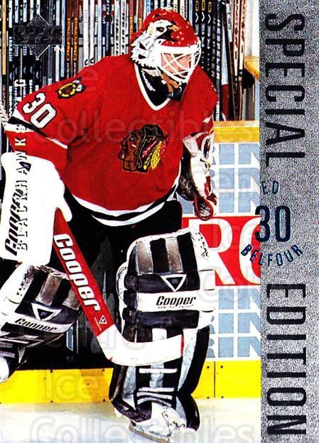 1995-96 Upper Deck Special Edition #19 Ed Belfour<br/>1 In Stock - $1.00 each - <a href=https://centericecollectibles.foxycart.com/cart?name=1995-96%20Upper%20Deck%20Special%20Edition%20%2319%20Ed%20Belfour...&price=$1.00&code=329238 class=foxycart> Buy it now! </a>