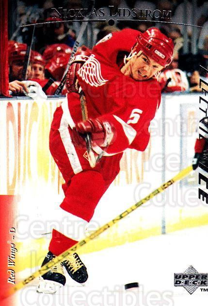 1995-96 Upper Deck Electric Ice #34 Nicklas Lidstrom<br/>3 In Stock - $2.00 each - <a href=https://centericecollectibles.foxycart.com/cart?name=1995-96%20Upper%20Deck%20Electric%20Ice%20%2334%20Nicklas%20Lidstro...&quantity_max=3&price=$2.00&code=329460 class=foxycart> Buy it now! </a>