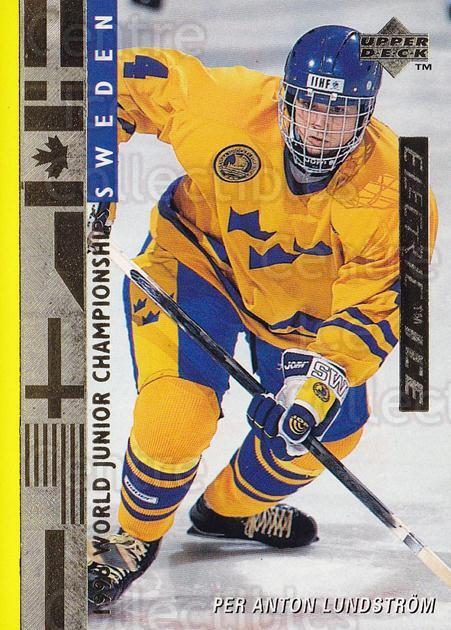 1995-96 Upper Deck Electric Ice Gold #562 Per Anton Lundstrom<br/>3 In Stock - $5.00 each - <a href=https://centericecollectibles.foxycart.com/cart?name=1995-96%20Upper%20Deck%20Electric%20Ice%20Gold%20%23562%20Per%20Anton%20Lunds...&price=$5.00&code=329516 class=foxycart> Buy it now! </a>