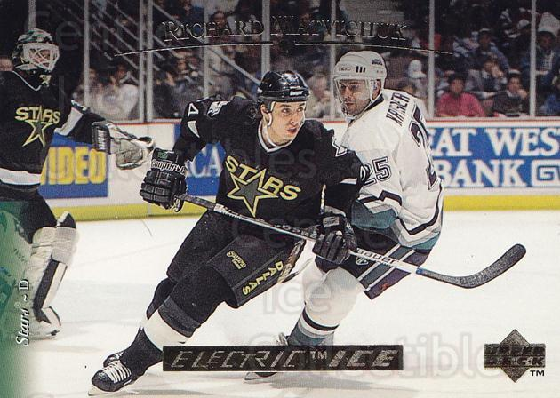 1995-96 Upper Deck Electric Ice Gold #37 Richard Matvichuk<br/>2 In Stock - $5.00 each - <a href=https://centericecollectibles.foxycart.com/cart?name=1995-96%20Upper%20Deck%20Electric%20Ice%20Gold%20%2337%20Richard%20Matvich...&quantity_max=2&price=$5.00&code=329789 class=foxycart> Buy it now! </a>