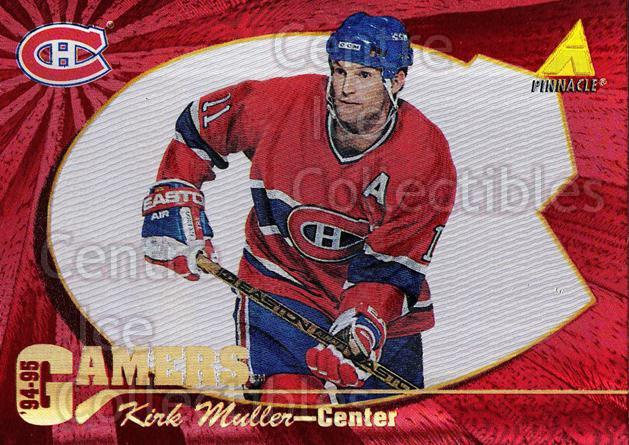 1994-95 Pinnacle Gamers #7 Kirk Muller<br/>2 In Stock - $3.00 each - <a href=https://centericecollectibles.foxycart.com/cart?name=1994-95%20Pinnacle%20Gamers%20%237%20Kirk%20Muller...&quantity_max=2&price=$3.00&code=32980 class=foxycart> Buy it now! </a>