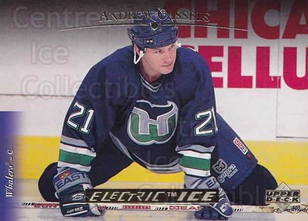 1995-96 Upper Deck Electric Ice Gold #492 Andrew Cassels<br/>1 In Stock - $5.00 each - <a href=https://centericecollectibles.foxycart.com/cart?name=1995-96%20Upper%20Deck%20Electric%20Ice%20Gold%20%23492%20Andrew%20Cassels...&quantity_max=1&price=$5.00&code=329913 class=foxycart> Buy it now! </a>
