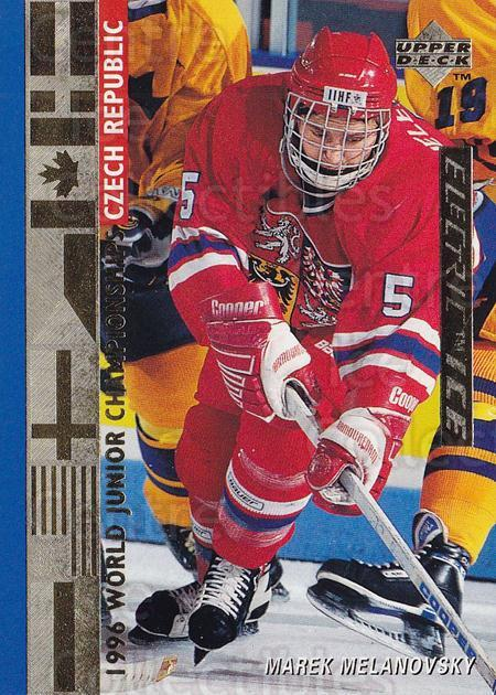1995-96 Upper Deck Electric Ice Gold #543 Marek Melenovsky<br/>1 In Stock - $5.00 each - <a href=https://centericecollectibles.foxycart.com/cart?name=1995-96%20Upper%20Deck%20Electric%20Ice%20Gold%20%23543%20Marek%20Melenovsk...&quantity_max=1&price=$5.00&code=329959 class=foxycart> Buy it now! </a>