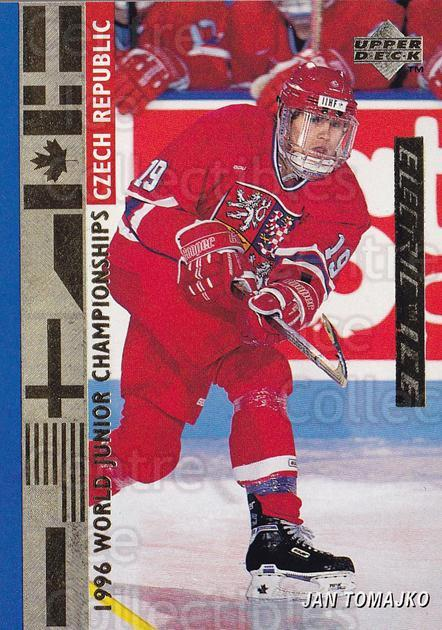 1995-96 Upper Deck Electric Ice Gold #544 Jan Tomajko<br/>2 In Stock - $5.00 each - <a href=https://centericecollectibles.foxycart.com/cart?name=1995-96%20Upper%20Deck%20Electric%20Ice%20Gold%20%23544%20Jan%20Tomajko...&quantity_max=2&price=$5.00&code=329960 class=foxycart> Buy it now! </a>