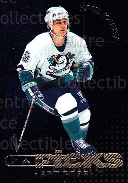 1995-96 Parkhurst Parkie Trophy Picks #15 Paul Kariya, Art Ross Trophy<br/>1 In Stock - $3.00 each - <a href=https://centericecollectibles.foxycart.com/cart?name=1995-96%20Parkhurst%20Parkie%20Trophy%20Picks%20%2315%20Paul%20Kariya,%20Ar...&price=$3.00&code=330105 class=foxycart> Buy it now! </a>