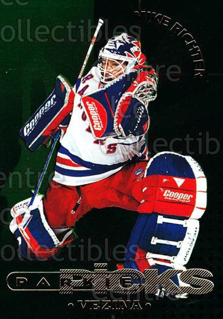 1995-96 Parkhurst Parkie Trophy Picks #31 Mike Richter, Vezina Trophy<br/>1 In Stock - $5.00 each - <a href=https://centericecollectibles.foxycart.com/cart?name=1995-96%20Parkhurst%20Parkie%20Trophy%20Picks%20%2331%20Mike%20Richter,%20V...&quantity_max=1&price=$5.00&code=330121 class=foxycart> Buy it now! </a>