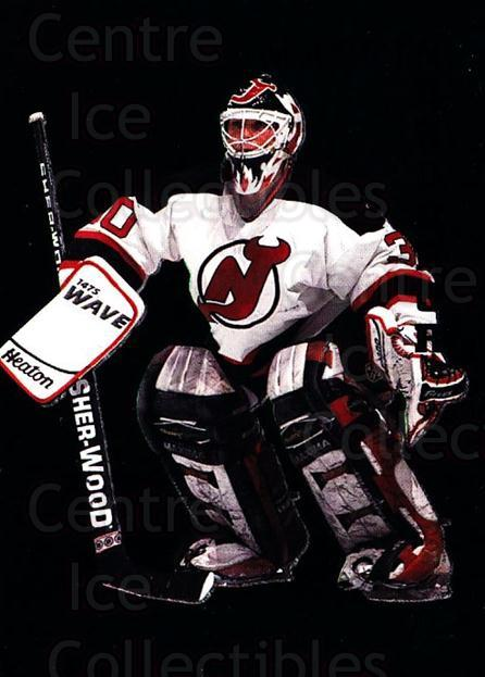 1995-96 Parkhurst Emerald #122 Martin Brodeur<br/>1 In Stock - $10.00 each - <a href=https://centericecollectibles.foxycart.com/cart?name=1995-96%20Parkhurst%20Emerald%20%23122%20Martin%20Brodeur...&price=$10.00&code=330411 class=foxycart> Buy it now! </a>