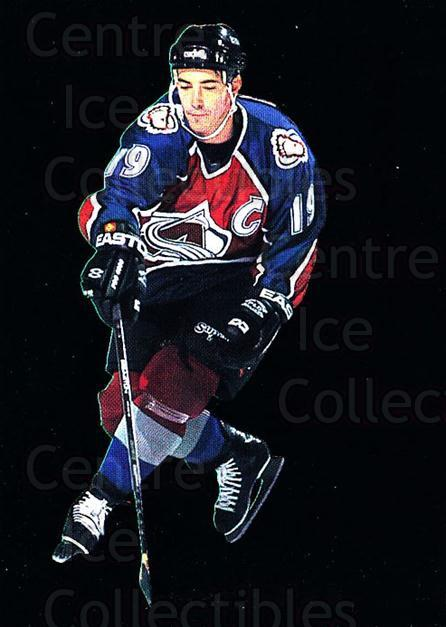 1995-96 Parkhurst Emerald #46 Joe Sakic<br/>1 In Stock - $10.00 each - <a href=https://centericecollectibles.foxycart.com/cart?name=1995-96%20Parkhurst%20Emerald%20%2346%20Joe%20Sakic...&quantity_max=1&price=$10.00&code=330544 class=foxycart> Buy it now! </a>