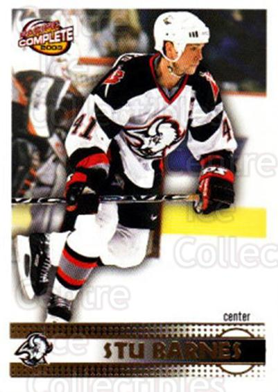2002-03 Pacific Complete #86 Stu Barnes<br/>3 In Stock - $2.00 each - <a href=https://centericecollectibles.foxycart.com/cart?name=2002-03%20Pacific%20Complete%20%2386%20Stu%20Barnes...&quantity_max=3&price=$2.00&code=330773 class=foxycart> Buy it now! </a>
