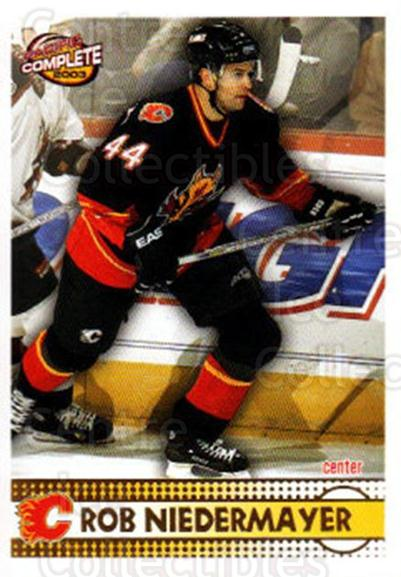 2002-03 Pacific Complete #88 Rob Niedermayer<br/>3 In Stock - $2.00 each - <a href=https://centericecollectibles.foxycart.com/cart?name=2002-03%20Pacific%20Complete%20%2388%20Rob%20Niedermayer...&quantity_max=3&price=$2.00&code=330775 class=foxycart> Buy it now! </a>