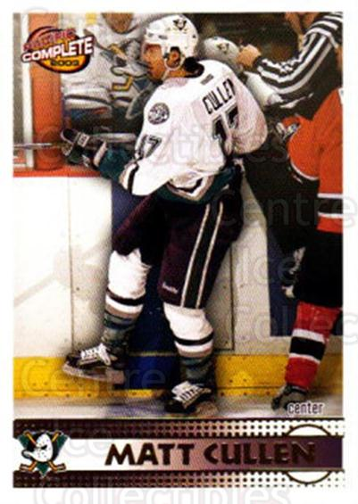 2002-03 Pacific Complete #157 Matt Cullen<br/>4 In Stock - $2.00 each - <a href=https://centericecollectibles.foxycart.com/cart?name=2002-03%20Pacific%20Complete%20%23157%20Matt%20Cullen...&quantity_max=4&price=$2.00&code=330844 class=foxycart> Buy it now! </a>