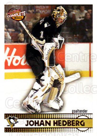2002-03 Pacific Complete #188 Johan Hedberg<br/>4 In Stock - $2.00 each - <a href=https://centericecollectibles.foxycart.com/cart?name=2002-03%20Pacific%20Complete%20%23188%20Johan%20Hedberg...&quantity_max=4&price=$2.00&code=330875 class=foxycart> Buy it now! </a>