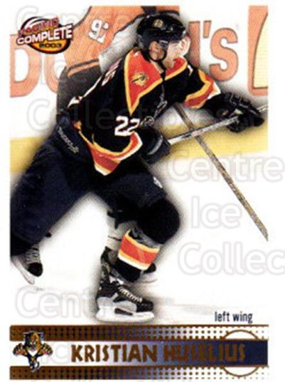 2002-03 Pacific Complete #316 Kristian Huselius<br/>1 In Stock - $2.00 each - <a href=https://centericecollectibles.foxycart.com/cart?name=2002-03%20Pacific%20Complete%20%23316%20Kristian%20Huseli...&quantity_max=1&price=$2.00&code=331003 class=foxycart> Buy it now! </a>