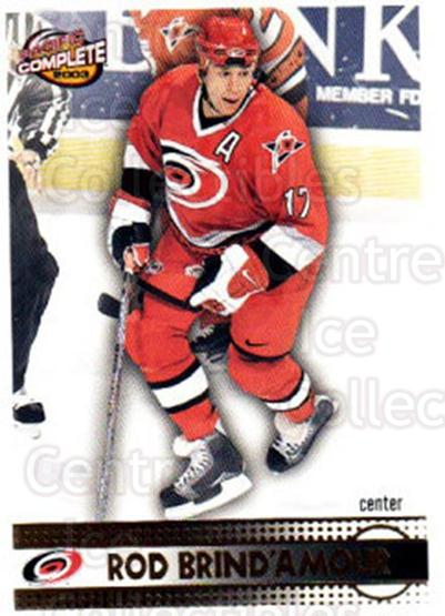 2002-03 Pacific Complete #317 Rod Brind'Amour<br/>2 In Stock - $2.00 each - <a href=https://centericecollectibles.foxycart.com/cart?name=2002-03%20Pacific%20Complete%20%23317%20Rod%20Brind'Amour...&quantity_max=2&price=$2.00&code=331004 class=foxycart> Buy it now! </a>