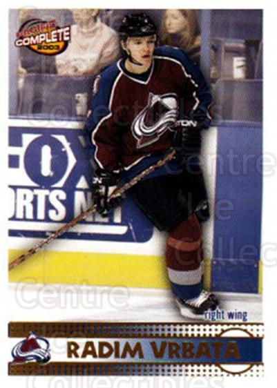 2002-03 Pacific Complete #375 Radim Vrbata<br/>1 In Stock - $2.00 each - <a href=https://centericecollectibles.foxycart.com/cart?name=2002-03%20Pacific%20Complete%20%23375%20Radim%20Vrbata...&quantity_max=1&price=$2.00&code=331062 class=foxycart> Buy it now! </a>