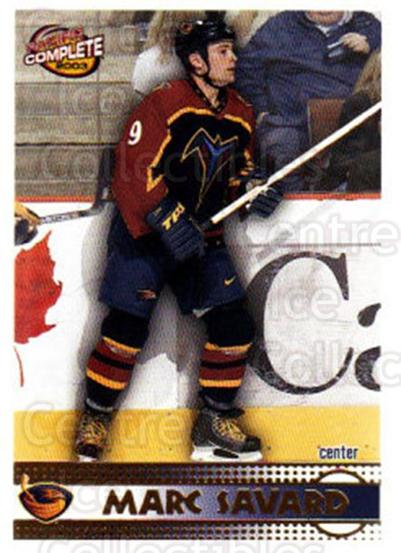 2002-03 Pacific Complete #407 Marc Savard<br/>4 In Stock - $2.00 each - <a href=https://centericecollectibles.foxycart.com/cart?name=2002-03%20Pacific%20Complete%20%23407%20Marc%20Savard...&quantity_max=4&price=$2.00&code=331094 class=foxycart> Buy it now! </a>