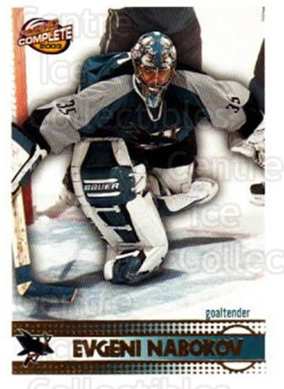 2002-03 Pacific Complete #431 Evgeni Nabokov<br/>2 In Stock - $2.00 each - <a href=https://centericecollectibles.foxycart.com/cart?name=2002-03%20Pacific%20Complete%20%23431%20Evgeni%20Nabokov...&quantity_max=2&price=$2.00&code=331118 class=foxycart> Buy it now! </a>