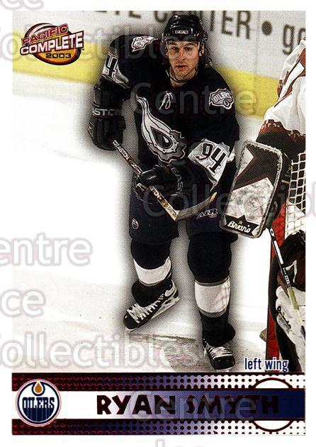 2002-03 Pacific Complete Red #32 Ryan Smyth<br/>3 In Stock - $3.00 each - <a href=https://centericecollectibles.foxycart.com/cart?name=2002-03%20Pacific%20Complete%20Red%20%2332%20Ryan%20Smyth...&quantity_max=3&price=$3.00&code=331319 class=foxycart> Buy it now! </a>