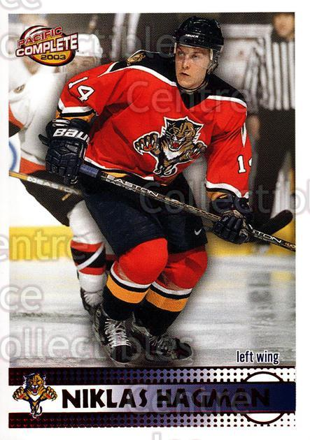 2002-03 Pacific Complete Red #85 Niklas Hagman<br/>3 In Stock - $3.00 each - <a href=https://centericecollectibles.foxycart.com/cart?name=2002-03%20Pacific%20Complete%20Red%20%2385%20Niklas%20Hagman...&quantity_max=3&price=$3.00&code=331372 class=foxycart> Buy it now! </a>