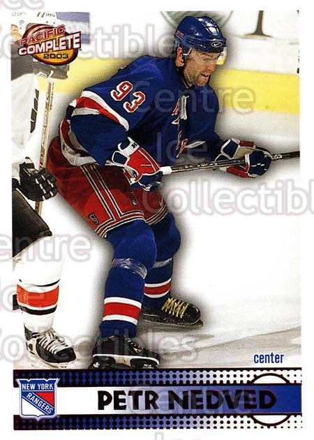 2002-03 Pacific Complete Red #90 Petr Nedved<br/>4 In Stock - $3.00 each - <a href=https://centericecollectibles.foxycart.com/cart?name=2002-03%20Pacific%20Complete%20Red%20%2390%20Petr%20Nedved...&quantity_max=4&price=$3.00&code=331377 class=foxycart> Buy it now! </a>