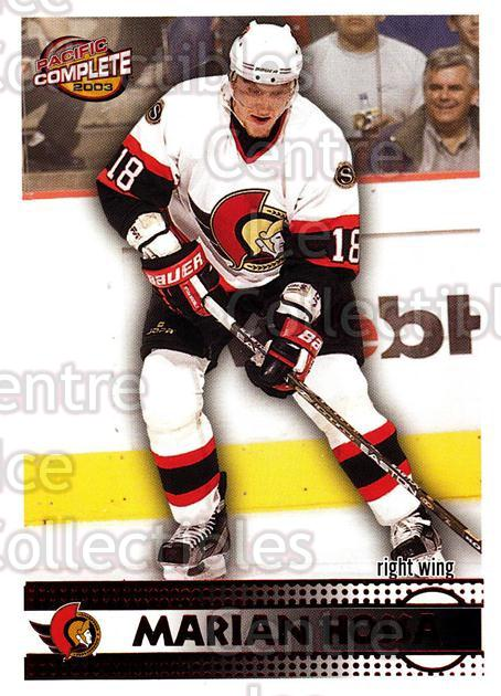 2002-03 Pacific Complete Red #107 Marian Hossa<br/>1 In Stock - $5.00 each - <a href=https://centericecollectibles.foxycart.com/cart?name=2002-03%20Pacific%20Complete%20Red%20%23107%20Marian%20Hossa...&quantity_max=1&price=$5.00&code=331394 class=foxycart> Buy it now! </a>